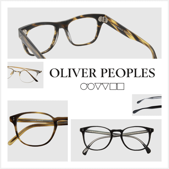 OLIVER PEOPLES SELLECTION